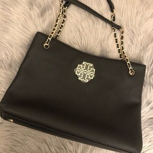 Tory Burch Britten Triple Compartment Tote